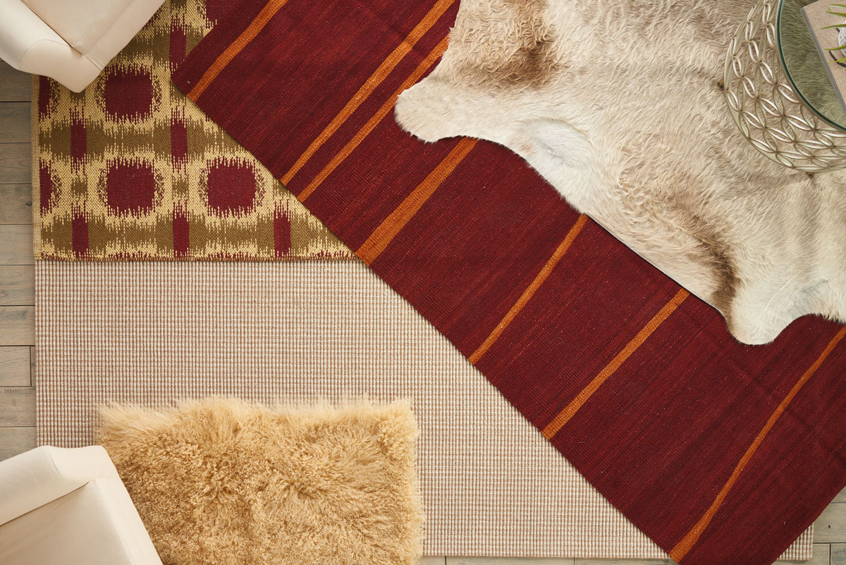 Layering Rugs Takes Your Room To The