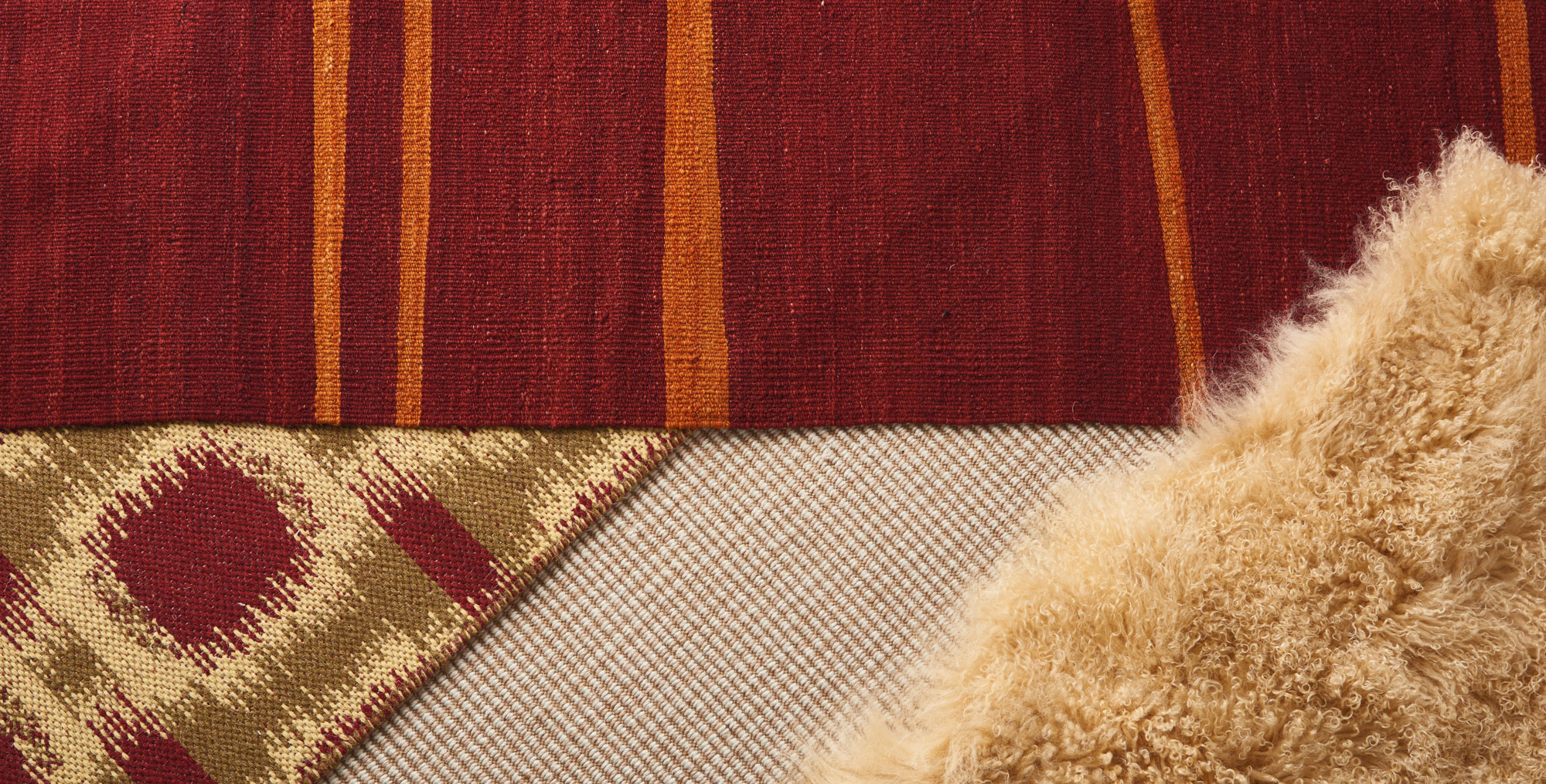 Layering rugs takes your room to the next level